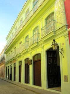 Casa de Africa Museum, Havana. This is where or classes took place