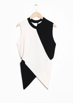 & Other Stories | Asymmetric Cutout Top