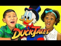 Kids React to the 1980s Animated Television Series 'DuckTales'