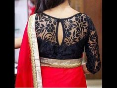 trendy blouses for designer sarees Saree Jacket Designs, Netted Blouse Designs, Pattu Saree Blouse Designs, Simple Blouse Designs, Stylish Blouse Design, Bridal Blouse Designs, Net Saree Designs, Designer Blouse Patterns, Boutique