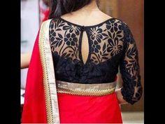 trendy blouses for designer sarees Brocade Blouse Designs, Saree Jacket Designs, Netted Blouse Designs, Saree Blouse Neck Designs, Designer Blouse Patterns, Fancy Blouse Designs, Bridal Blouse Designs, Stylish Blouse Design, Boutique