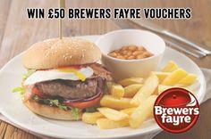 ⋆Win £50 Brewers Fayre Vouchers ⋆