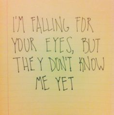 everything by Ed is brilliant, but this lyric has to be one of my favorites.