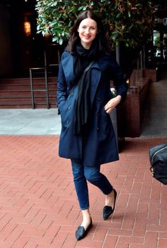 Here's a new picture of Caitriona Balfe in Dublin Source | Via
