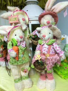 Easter Bunny Family! #Bunnies