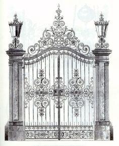 - Wrought iron garden gate – ArchiExpo … Wrought iron garden gate – ArchiExpo More -