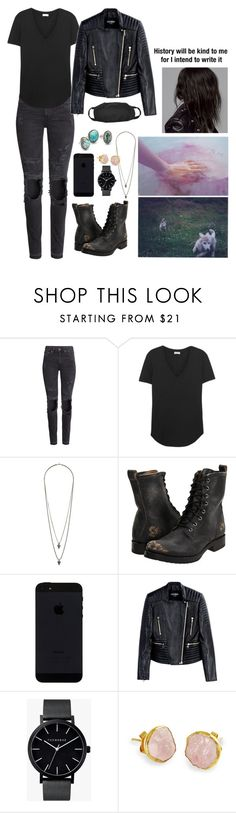 """Magic"" by anna-fozo ❤ liked on Polyvore featuring H&M, Splendid, Wallis, Frye, Balmain, The Horse, Far + Wide Collective and Child Of Wild"