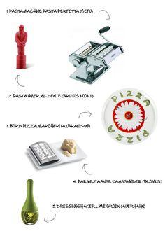 Italiaanse keukenaccessoires - Myhomeshopping