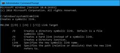 Windows 10, 8, 7, and Vista all support symbolic links—also known as symlinks—that point to a file or folder on your system. You can create them using theCommand Prompt or a third-party tool called Link Shell Extension.