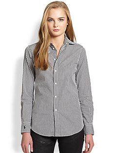 Polo Ralph Lauren Cotton Broadcloth Shirt