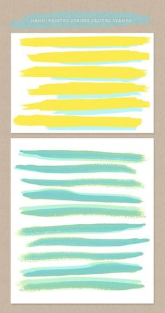 Hand Painted Brushes for Photoshop