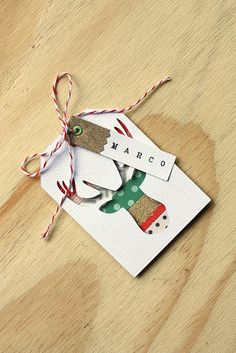 Christmas Tags by Eva Pizarro @evapizarrov using From Me To You Collection