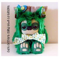 $70.00 Chirp Yetimoose by CuteCritters on Handmade Australia