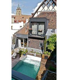 Creuser une piscine sur une terrasse | GLAMOUR PARIS