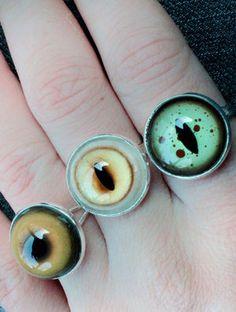 猫の目の指輪