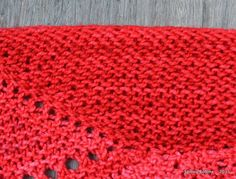 Ma version du châle Aranami - SpirouBobine Blanket, Knitting, Crochet, Point, Fashion, Shawl, Mosaics, Tejidos, Dressmaking