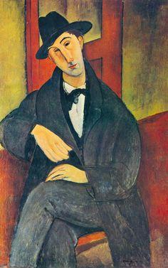 Mario Premium Giclee Print by Amedeo Modigliani at Art.com