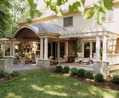 Multipurpose Addition. Even great from the front of the house as a porch.