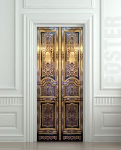 Door STICKER old baroque house enter doors mural decole by Wallnit, $44.99