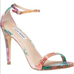Steve Madden Stecy Floral Snake Colors vary. Brand new in box. Steve Madden Shoes Heels