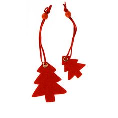 Brighten up your Christmas gifts with these gorgeous tree felt present toppers. The receiver can reuse them as a cute Christmas tree decoration. Pack contains 10 toppers, 5 small and 5 large.