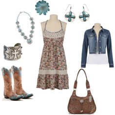 """""""Summer in the country"""" by rinergirl on Polyvore"""