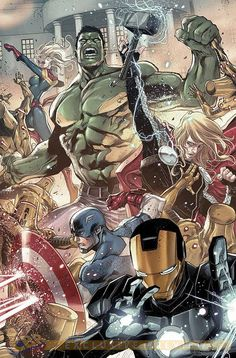 Nick Spencer discusses the epic 'Trouble Map' storyline in 'Avengers World' and his 'AXIS' tie-in arc featuring a Doctor Doom-led Avengers team. Hq Marvel, Marvel Comics Art, Marvel Heroes, Avengers Art, Avengers Comics, Avengers Team, Spiderman, Avengers Wallpaper, Marvel Characters
