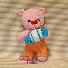 Amigurumi Bear ~Free Russian Pattern