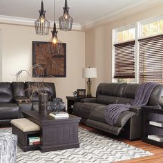 That Furniture Outlet - Minnesota's #1 Furniture Outlet. We have exceptionally low everyday prices in a very relaxed shopping atmosphere. Ashley McCaskill Power Reclining 3 Piece Leather Sectional thatfurnitureoutlet.com #thatfurnitureoutlet  #thatfurniture  High Quality. Terrific Selection. Exceptional Prices.