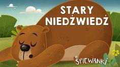 Stary niedźwiedź mocno śpi  – piosenka z teledyskiem dla dzieci. Śpiewanki.tv