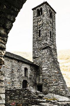 Santa Maria di Castello, Giornico, Switzerland | by Christian Hermann Fotografie Santa Maria, Stirling, Switzerland, Castles, Scotland, Bucket, England, Christian, Travel