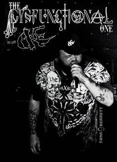DYSFUNCTIONAL aka Brandon Price LIVE @ Kamikaze's 06/14/2016. Photography/Art by Tank Berrett Arts