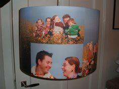 Eigen foto op lamp, kussen, boxkleed