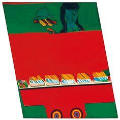 Pop art: Allen Jones, bus/Slow Red and Green, 1962 Allen Jones, Mass Culture, Peter Blake, Best Of British, David Hockney, Popular Culture, Abstract Expressionism, Pop Art, Comic Books