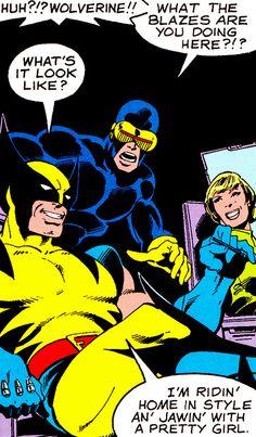 jthenr-comics-vault:  UncannyX-Men #121Art by John Byrne &...