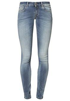 Replay HYPERFLEX LUZ - Jeans Skinny Fit - blue - Zalando.no