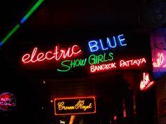 Club Electric Blue gogo bar. Patpong, Bangkok.