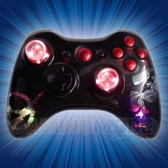 This is our Illuminating Vampire Extreme Edition Modded Xbox 360 Controller. We have released our extreme edition series of modded xbox 360 controllers and this model is one of the newest in that series. You can purchase this controller and many other custom Xbox 360 controllers exclusively at GamingModz.com! Watch the video now: http://www.youtube.com/watch?v=Ivbx5fzyHGY=share=UUf