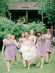 bridal party looks | CHECK OUT MORE IDEAS AT WEDDINGPINS.NET | #bridesmaids
