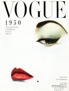Holiday gift inspiration: A print of a vintage Vogue Cover. Vogue Vintage, Capas Vintage Da Vogue, Vintage Vogue Covers, Vintage Fashion, 1950s Fashion, Vogue Magazine Covers, Magazine Mode, Beauty Magazine, Front Magazine