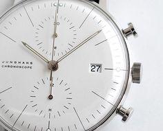 Junghans Max Bill Chronoscope White
