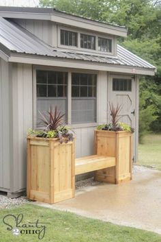 DIY Planter Box – When you wish to include decorative plants to your household, diy planter boxes can be utilized properly for that function. Backyard Projects, Outdoor Projects, Garden Projects, Diy Projects, Diy Planter Box, Diy Planters, Planter Bench, Planter Garden, Herb Garden