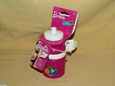 Barbie Bottle Doll My Fab Sports Bike Bicycle Clamp 2010 Mattel Bell New 12 Oz #Mattel #Accessories