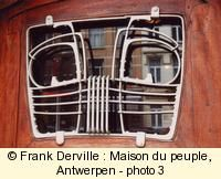 """The """"Maison du peuple"""" in Brussel was built by Horta"""