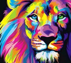 Colorful Tigerr ❤ .