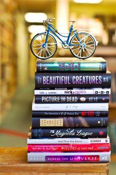 Libros Azules de bicicletas en Charleston