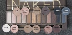 MAC Dupes for the Urban Decay Naked Palette