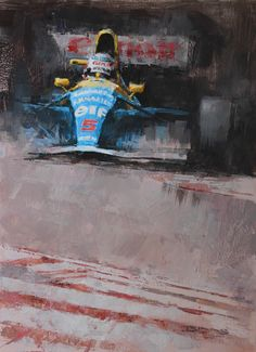 Champion - Nigel Mansell Part of a triptych of three British F1 Champions