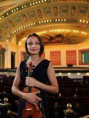 Constella Festival announces lineup. Photo: Tatiana Berman is a concert violinist and is artistic director and founder of the Constella Festival of Music and Fine Arts. The Enquirer/Liz Dufour