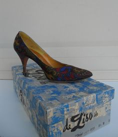 Hey, I found this really awesome Etsy listing at https://www.etsy.com/listing/183299949/vintage-50s-designer-heels-palter-deliso